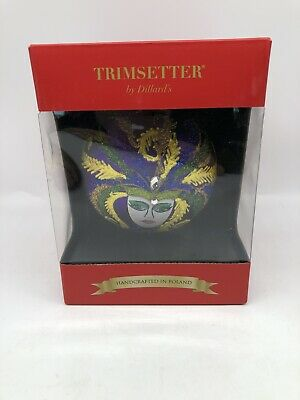 Trimsetter By Dillard's Handcrafted In Poland Holiday Ornament NIB