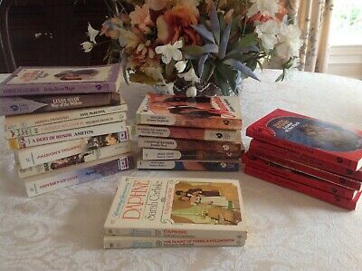 20 Vintage Romance Novels Various Titles