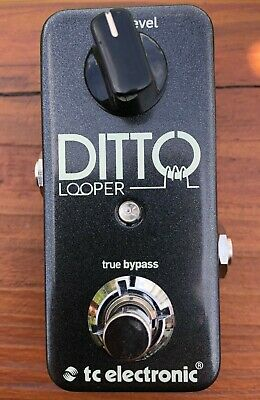 TC Electronic Ditto Looper Guitar Effect Pedal - Very Nice!