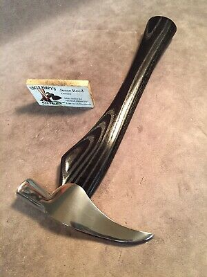 Vintage picaroon axe tomahawk war hammer POLISHED custom JESSE REED handle