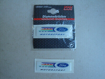 10 Sticker Aufkleber Sticker Relief Ford Motorsport  (Nr.369)