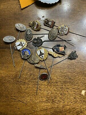 WWII And Post War German Stick Pin Collection