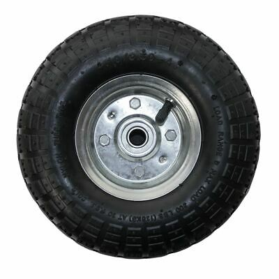 """10"""" Replacement Spare Wheel Tyre 4.10 /3.50 - 4 Garden Tool Trolley Cart Sack"""