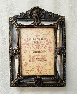 "Laura Ashley Home Ornate Victorian Style Photo Frame 3"" x 4.5"""