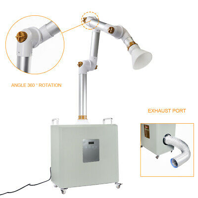 Global Mobile External Oral Suction Device Efficient HEPA Filtration with UV Light and Plasma Air Machine 1200W