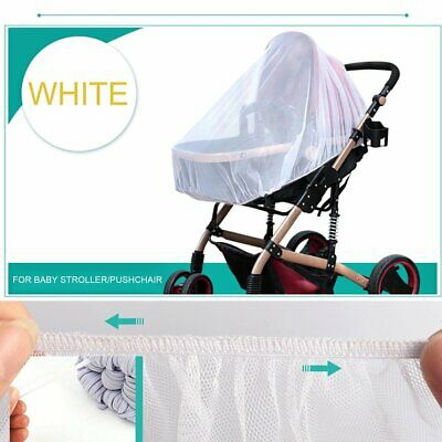 Mosquito Fly Insect Net Mesh Buggy Cover Baby Infant Stroller Pushchair Pram OW