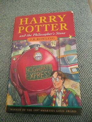 Harry Potter and the Philosopher's Stone 1st Edition Hardback