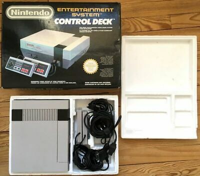Be Pack Console Control Deck Nintendo Nes Pal B Fra Complet Cib Ovp Good Cond