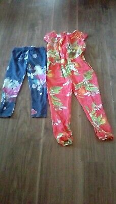 Ted Baker Jumpsuit and leggings 5-6 years