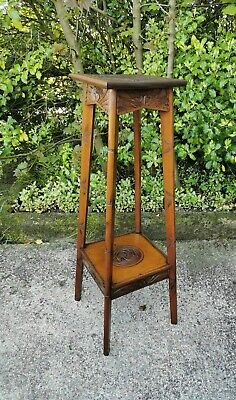 Antique Tall Plant Stand, Jardiniere