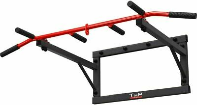 TnP Multi Grip Wall Mounted Pull Up Bar Iron Chin Home Gym Station PullUp Bar