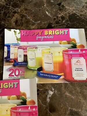 Bath & Body Works 20% Off Coupon Expires 08/08/2020