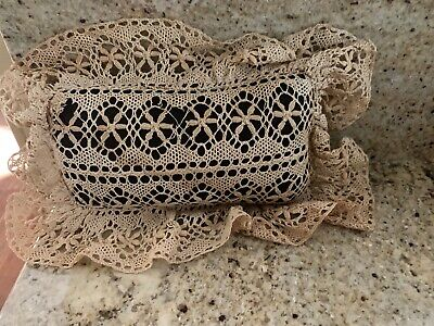 Old Needle lace Pin Cushion