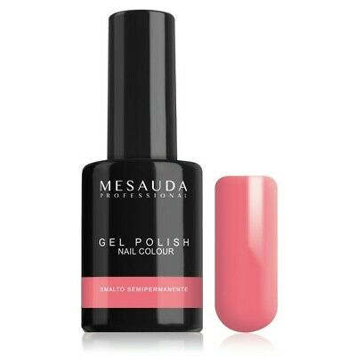 Mesauda Semipermanente Gel Polish Nail Colour 71 Clementine 10Ml