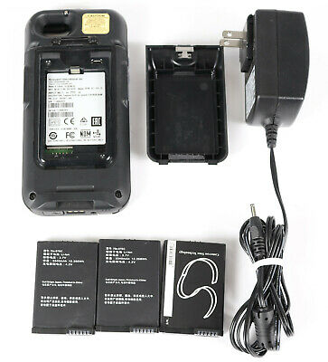 Honeywell Captuvo SL42-055301-K6 Sled for iPhone 6 w/ Adapter and 3x Batteries