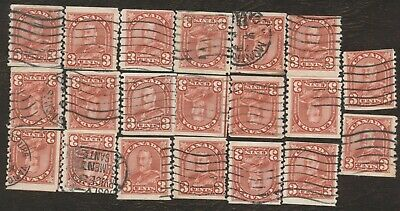 Stamps Canada # 183, 3¢, 1931, lot of 20 used stamps.