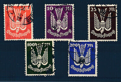 Germany 1924 Used Set # C20/26 Airmail Stamps !!  Ad246