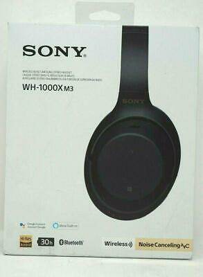 USE Sony Wireless Bluetooth Over the Ear Headphones - Noise Cancelling WH1000XM3