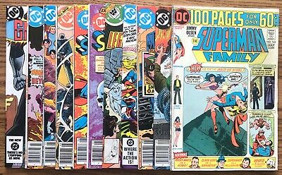 Lot Of 11 Dc Variety Lot (1974-1984) #9,10,22,29,36,165,182,227.. Bronze/Copper=
