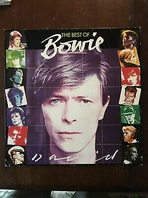 David Bowie - The Best of Bowie - Early Pressing NM/VG+