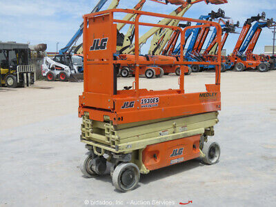 2017 JLG 1930ES 19' Electric Scissor Lift Man Aerial Platform Extension bidadoo