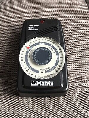Matrix MR-500 Compact Quartz Metronome with Earphone
