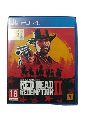 Red Dead Redemption 2 PS4 COMPLETO ITALIANO MAPPA Play station 4 playstation II