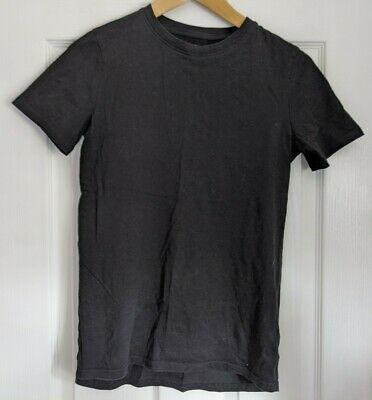 H & M Basic Black T-shirt, Child, Boy, Girl, Used, Good Condition