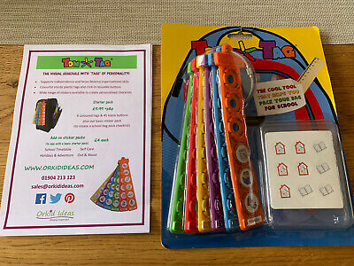 BNIP Tom Tags – I can do it – pack my bag for school