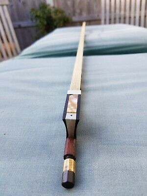 Genuine Antique Violin Bow recently re-haired with quality horse hair.