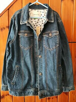 Boys River Island Denim Jacket Age 11 Years New with Tags