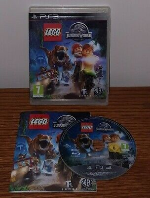 PS3 Lego Jurassic World Playstation 3 Video Game Free Shipping Sent Same Day