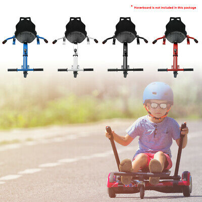 Hovercart Seat Attachment Holder for Self Balancing Go Kart Fun