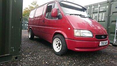 1999 ford transit smiley day van camper