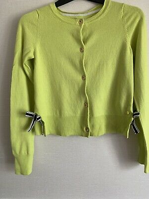 juicy couture Lime Green Girls Cardigan Age 12/14