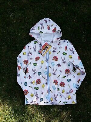 Girls NEXT size 10 years Looney tunes shower proof coat