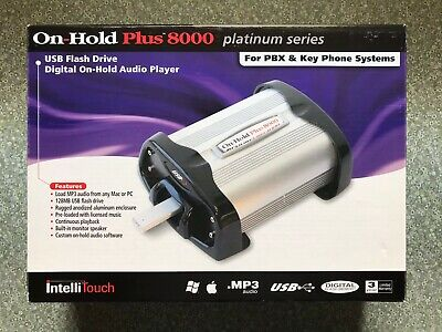 On-Hold Plus 8000 Platinum Series w/loaded USB By IntelliTouch