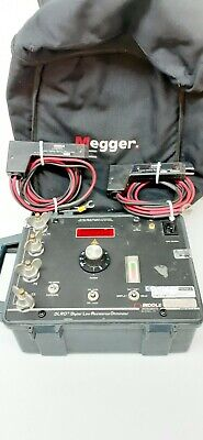 Megger Biddle DLRO 10A 247001 Single-Pak 10A Digital Low Resistance Ohmmeter DH1