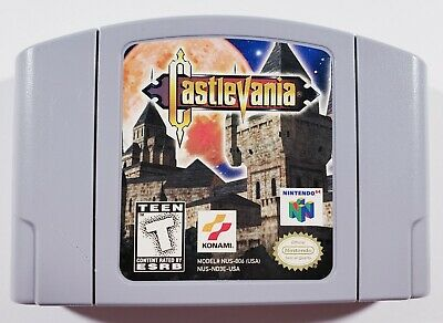 Castlevania (Nintendo 64, N64, 1999) N64 - AUTHENTIC - CARTRIDGE ONLY - Tested