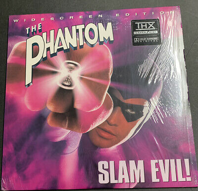1996 The Phantom - Widescreen Edition LaserDisc - Slam Evil! RARE.