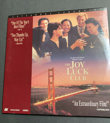 Laserdisc - The Joy Luck Club - Letterbox Edition - movie
