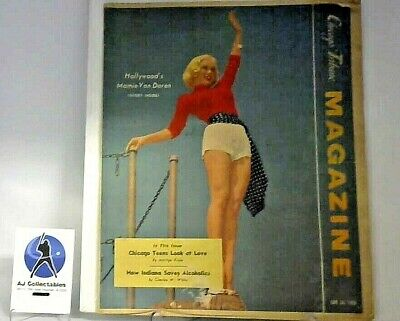 VINTAGE - JUNE 24,1956 - CHICAGO SUNDAY TRIBUNE MAGAZINE - Mamie Van Doren