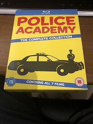 Police Academy 1-7 - The Complete Collection (Blu-ray, 2013, 7-Disc Set, Box...