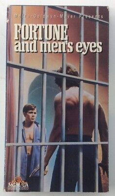 Fortune And Men's Eyes (VHS, 1971) Prison Drama Gay Interest Rare Non-Rental