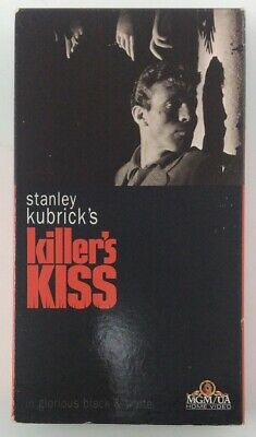 Stanley Kubrick's Killer's Kiss - RARE - VHS - MGM Home Video - 1955 Cult