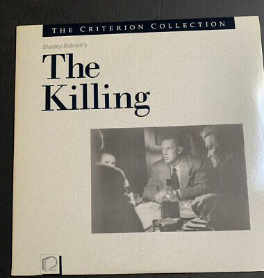 STANLEY KUBRICK orig. THE KILLING laserdisc RARE CRITERION COLLECTION