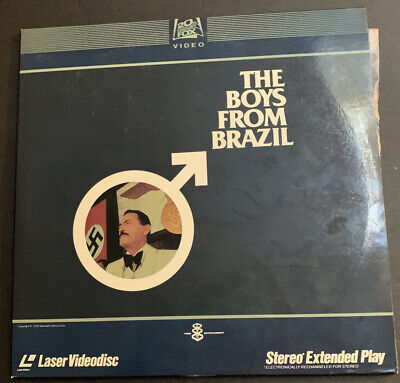 THE BOYS FROM BRAZIL Laserdisc VGC