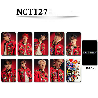 KPOP NCT127 Neo Zone Photocard NCT The Final Round Photo Cards Photograph 10pcs