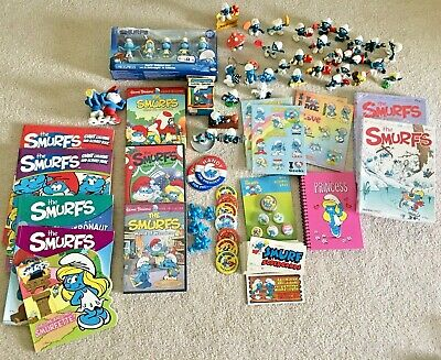 Smurf lot w/ 118 pieces! Most brand new and some great collector items!