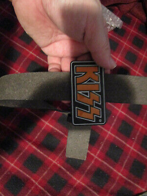 Kiss belt and buckle